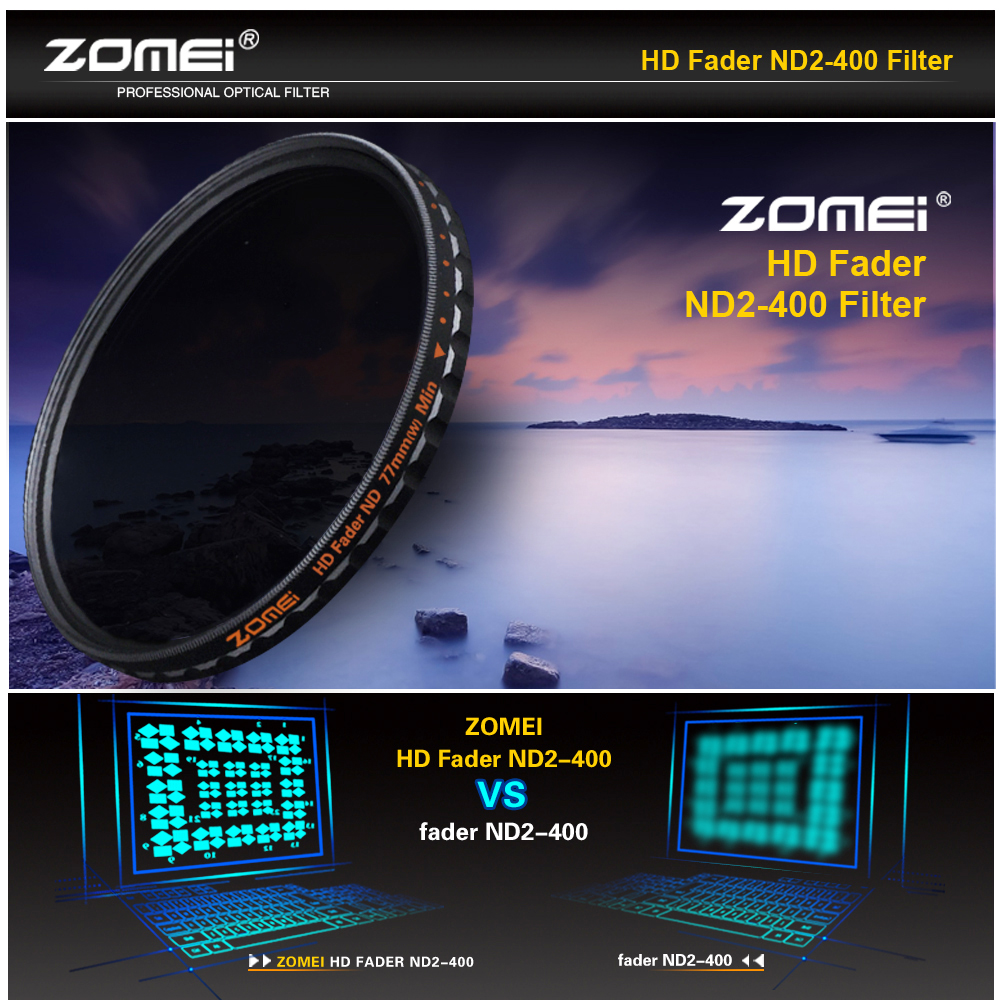 zomei variable nd filter review
