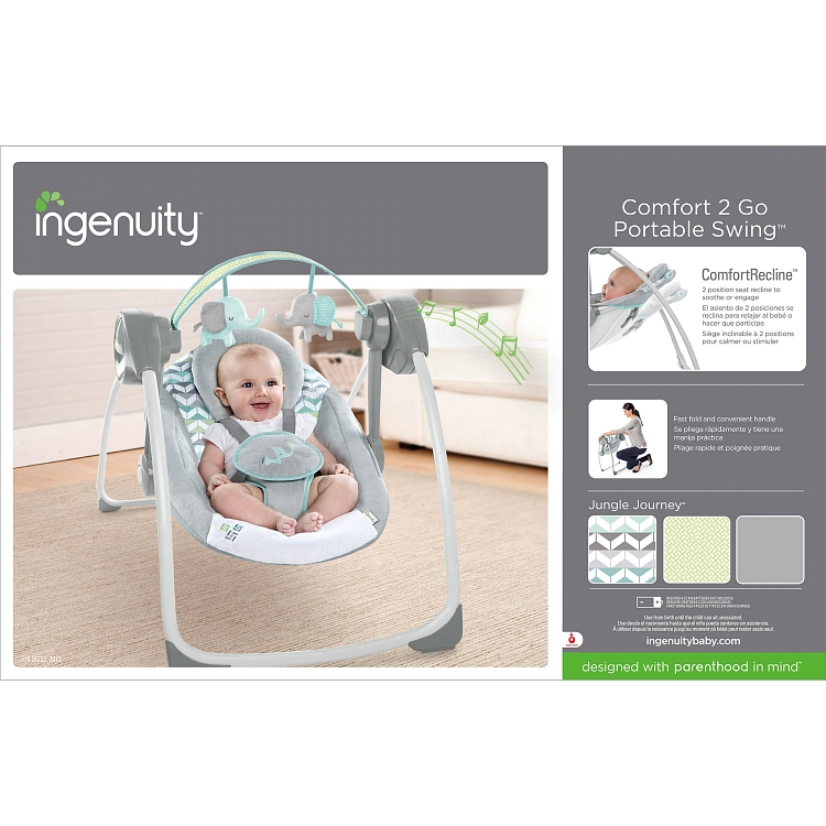 ingenuity comfort 2 go portable swing reviews