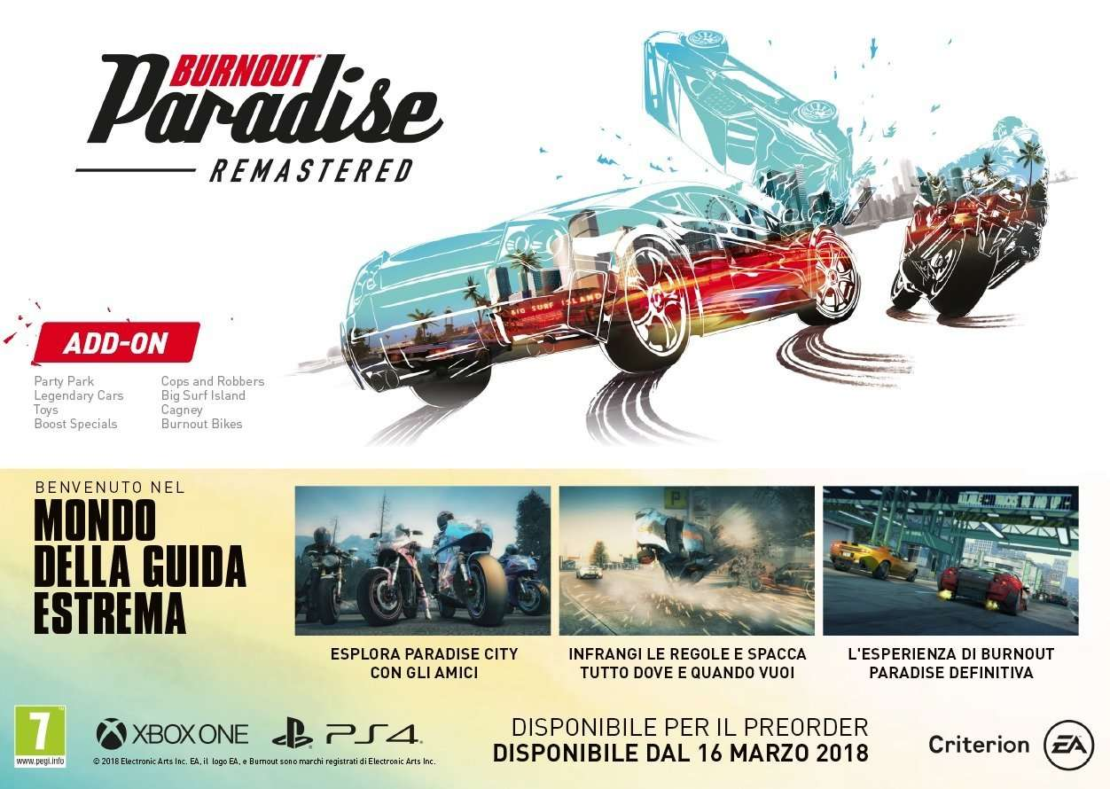 burnout paradise remastered ps4 review