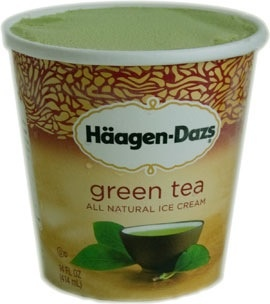 haagen daz green tea ice cream review