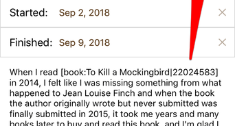 how to write a goodreads review