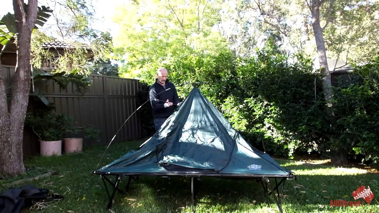kamp rite double tent cot review